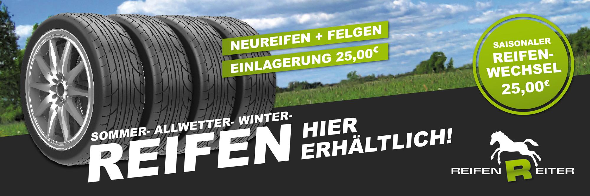 Reifen-Banner